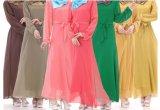 Vestido por atacado do fornecedor do OEM China da roupa das senhoras Abaya Egipto de Kafan