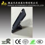 Dispositivo di piegatura di cuoio del supporto dell'automobile della cassa del telefono dell'unità di elaborazione con la chiusura lampo