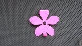 Einzelne Blumen-Metallmultifunktionshaken