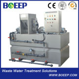 Unidade de dose e de enchimento do polímero automático