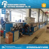 Linha expulsando de alumínio da maquinaria do cabo de fio para o fio e os cabos