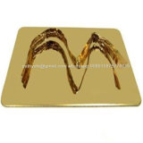 Taille 304 1219X2438mm de la feuille 201 d'acier inoxydable de miroir d'or
