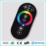 18A regulador sin hilos del RGB del tacto de la C.C. 12V/24V RF para 5050/3528 tira del RGB LED