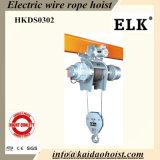 Élévateur électrique de câble métallique des élans 3t avec le chariot motorisé