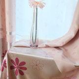 Rideau en guichet estampé parCôté floral d'arrêt total (21W0014)