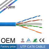 Câble du câble Ethernet UTP CAT6 de la qualité 305m 1000FT de Sipu