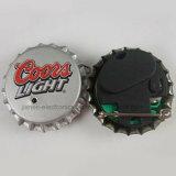 Insignia de destello de encargo del casquillo de botella de la cerveza LED para el regalo de la promoción (3569)