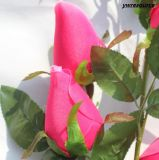 가정 결혼식 훈장을%s 가짜 꽃이 로즈 싼 실크 인공적인 새싹에 의하여 꽃이 핀다