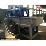 Desfibradora del tubo de agua del PVC del HDPE para reciclar el plástico