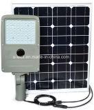 luz do diodo emissor de luz da rua 50W de 5-8m com painel solar