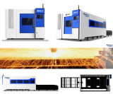 Machine de découpage en acier de laser de fibre de mélange en métal avec Ipg