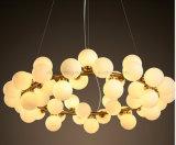 Lustre Dlss Hotsale pour salle de séjour Éclairage en verre LED moderne