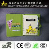 Suministro al por mayor de escritorio de la oficina de la escuela personalizado papel barato portátil con Power Bank
