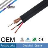 Sipu alta velocidad CCTV Rg59 + 2c de alimentación de cable coaxial para el monitor