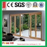 Оптовая различная дверь складчатости алюминиевого сплава высокого качества