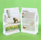Flat-Bottom Hundenahrungsmittelreißverschluss-Beutel