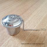 Cor de prata por atacado feito-à-medida chá Infuser do aço inoxidável
