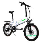 велосипед складного миниого города 250W 350W 500W электрический с батареей лития