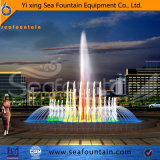 Heller dekorativer Kombinations-Typ Brunnen des Programm-SteuerEdelstahl-LED