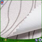 Tela ignífuga impermeable tejida materia textil casera de la cortina del telar jacquar del poliester