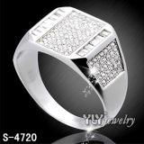 Fabbrica di qualità superiore Hotsale dell'anello dei monili dell'argento di disegno