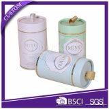 Empaquetado elegante de la ropa interior del tubo de la flor redonda del cilindro