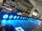 De openlucht LEIDENE RGBW van het Gezoem 18X10W 4in1 IP65 Lichte Waterdichte Hoge Macht van het PARI