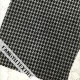 Schwarzes Franse-Spitze-Gewebe für Kleid-Gewebe