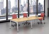 Ht09-3の白いカスタマイズされた金属の鋼鉄オフィスの会議の机フレーム
