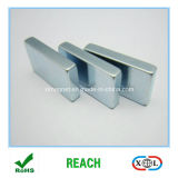 Block-Magnet des Neodym-N52