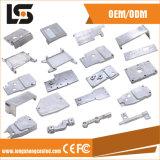 Diverses pièces en aluminium de machine à coudre pour la couverture latérale