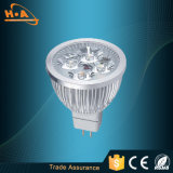 la hebra de aluminio 12W substituye el proyector de la iluminación de la fuente de la lámpara LED