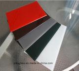 고급 색깔 세라믹 프릿으로 만들어진 유리제 정면