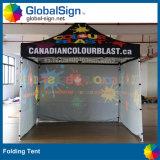 Vendita calda! La tenda con l'evento su ordinazione posteriore completo di colore completo della parete schiocca in su il Gazebo della tenda foranea