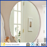 Glasses Round or Ovil Silver or Aluminum Full Length Mirror Dressing Mirror Cosmetic Mirror