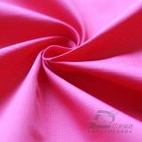 agua de 50d 330t y de la ropa de deportes tela tejida chaqueta al aire libre Viento-Resistente 100% de la pongis del poliester del telar jacquar de la tela cruzada abajo (53234Q)