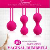 le sexe orienté médical de fiche anale intelligente d'amour d'entraîneur d'haltères d'exercice de billes de rétrécissement de vagin des silicones 5PCS/Lot joue GS0061