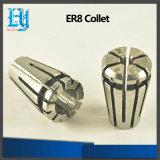 Alta calidad que embrida la herramienta que muele del cerco de la serie de la herramienta Er8 Er