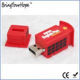 Lecteur flash USB de modèle de cabine téléphonique (XH-USB-161)