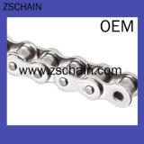 La catena della trasmissione dell'acciaio inossidabile con la ruota dentata