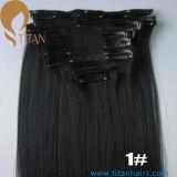 Grampo de Remy da fábrica na extensão 120g do cabelo humano na venda