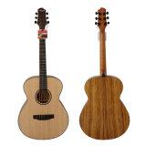 Cutaway 40 дюймов Handcraft верхняя твердая акустическая электрическая гитара