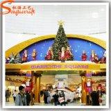 최신 판매 PVC 시장 훈장을%s 인공적인 크리스마스 나무