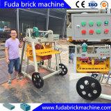 Bloco móvel manual que faz a máquina em Ghana Filipinas Kenya