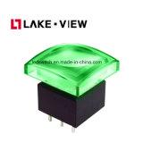 Alternater機能6 Pin電気LEDの押しボタンスイッチ