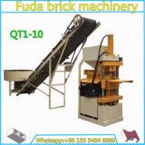 フライアッシュの土の煉瓦作成機械粘土のブロック機械ライン