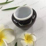 De ronde Kruik van de Room van de Wijn van de Reeks 45g Rode Acryl voor Kosmetische Verpakking (ppc-acj-096)