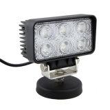 18W quadratisches LED Arbeits-Licht für Landwirtschafts-Gerät