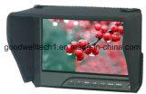 """7 """" DSLR 1080P Monitor Wih, das Fokus, Bildschirm-Markierung, Mittelmarkierung emporragt"""