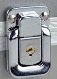 Gris con cierre de aluminio sobrevivir equipo de emergencia médica con la impresión de pantalla